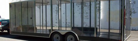 Clear-Vue Enclosed trailer 2008