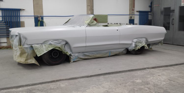 1965 Pontiac Catalina : 421 4spd Frame-Off Restoration in Progress
