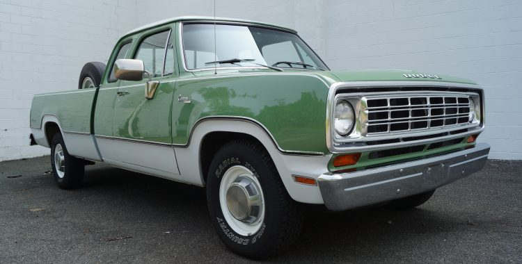 1973 Dodge D200 Adventurer Club Cab