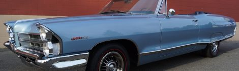 1965 Pontiac Catalina Convertible : 421 4spd Frame-Off Restoration