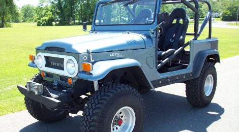 SOLD 1969 FJ40 Custom