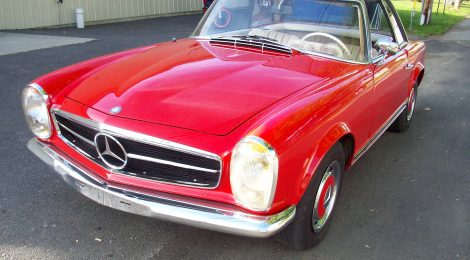 SOLD 1967 Mercedes 250SL