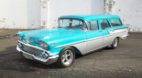SOLD 1958 Chevy Nomad Wagon