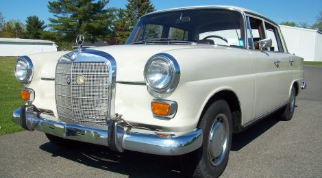 SOLD 1967 Mercedes 200D: Heckflosse