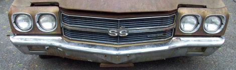SOLD 1970 Chevelle SS 396 Project