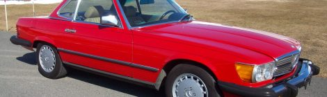 SOLD 1988 Mercedes 560SL