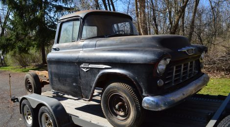 SOLD 1955 Chevrolet 3600 Pickup Series 2