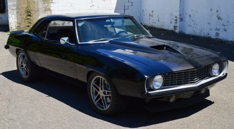 1969 Camaro : 2002 chassis : LSX 6-speed Turbo