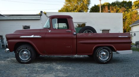 1958 Chevrolet Apache Shortbed Fleetside