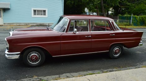 1966 Mercedes 230S : Original Paint 50kmi