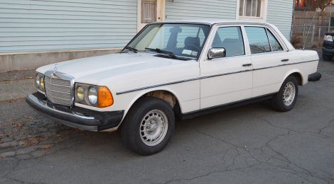 1984 Mercedes 300D Turbo Diesel