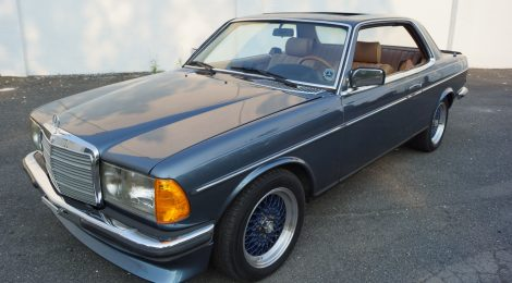 1982 Mercedes 280CE Manual Trans