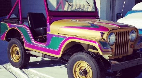 1967 Jeep CJ5 : Retro Ride