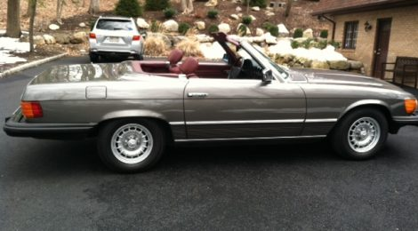 SOLD Mercedes 380SL