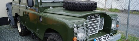 1977 Land Rover 109 : TDI Swapped Restomod