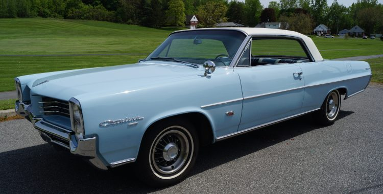 1964 Pontiac Catalina : Tri-Power 4-speed Hot Rod