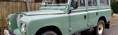 Nantucket Restomod : Land Rover Series 3 109