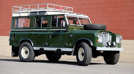 1977 Land Rover 109 : TDI Swapped Restomod